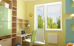 пластиковые окна Вишневое, остекление балконов Вишневое (с выносом и под ключ) 0442271225