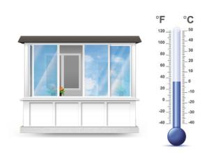 холодное остекление балконов и лоджий в Киеве