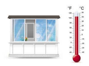 теплое остекление балконов и лоджий в киеве