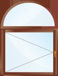 арочные окна заказать киев