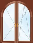 арочные пластиковые окна цены