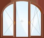 окна арочные из ПВХ купить