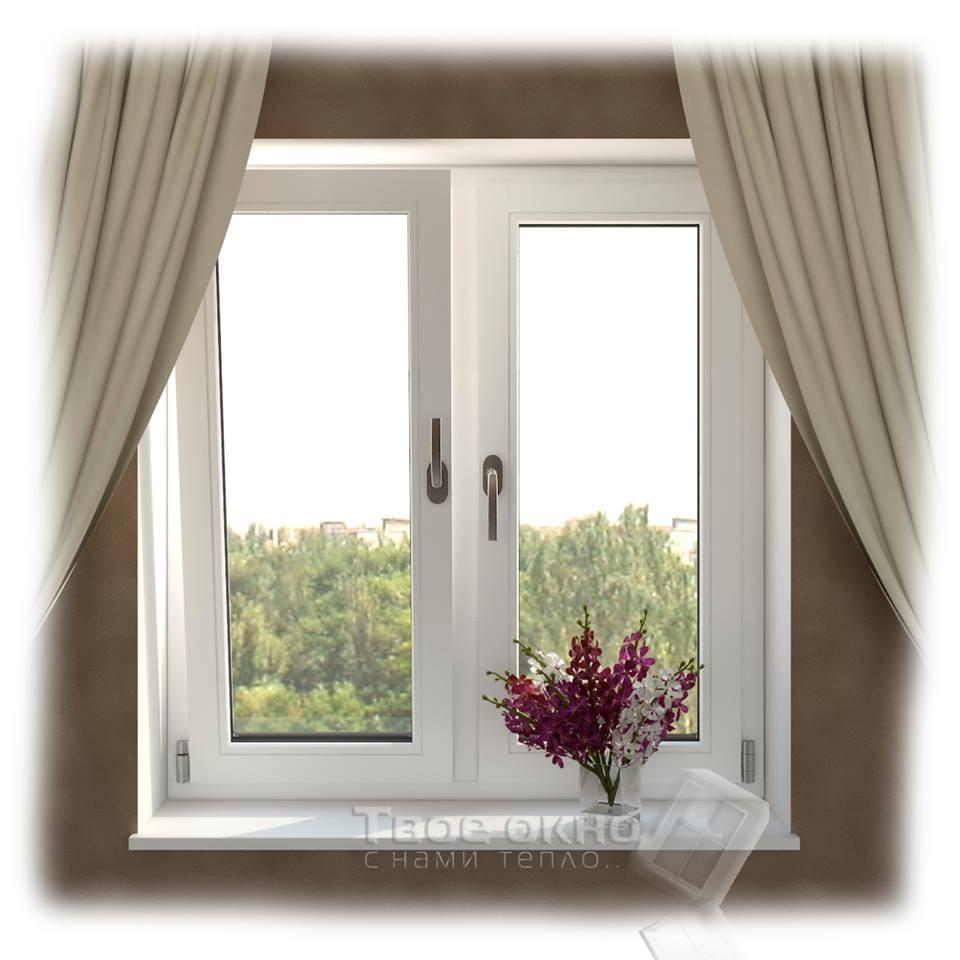 okno13 - Пластиковые окна  - цена на типовые конструкции