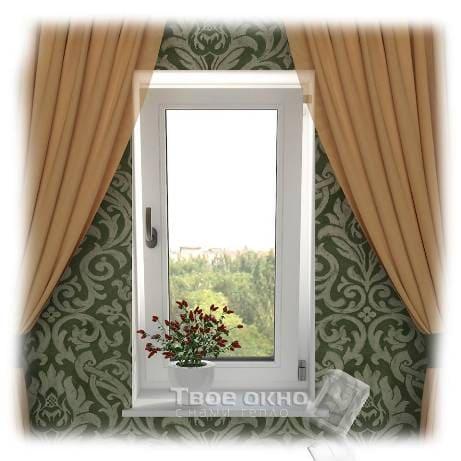okno4 - Пластиковые окна  - цена на типовые конструкции