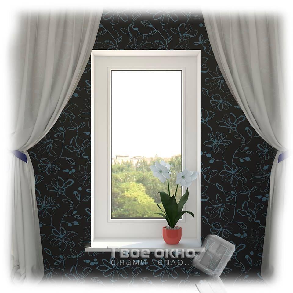 okno5 - Пластиковые окна  - цена на типовые конструкции