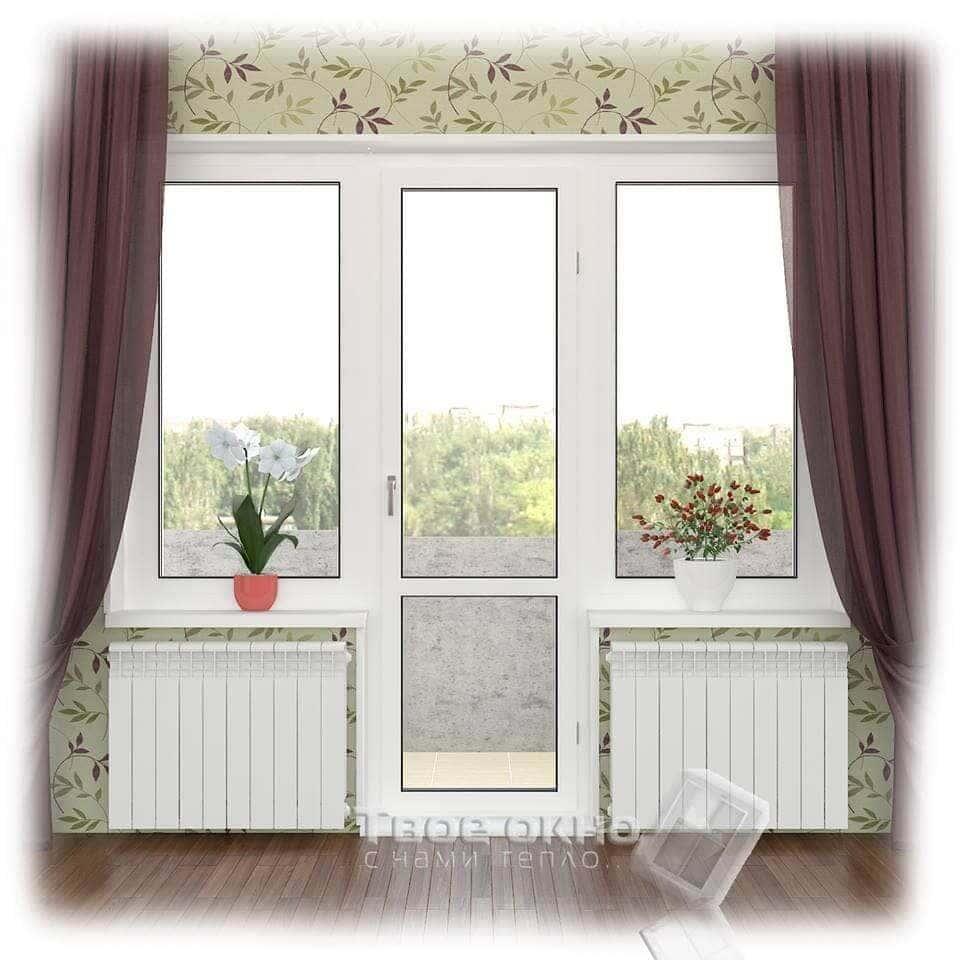 Балконный блок цена. балконные двери купить киев от твое окн.