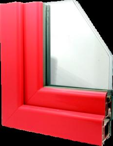 пластиковые окна с покраской