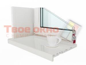 Crystalit Beliy 300x225 - Подоконник Crystalit