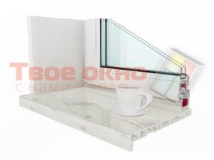 Crystalit Beliy Dub 300x225 - Подоконник Crystalit