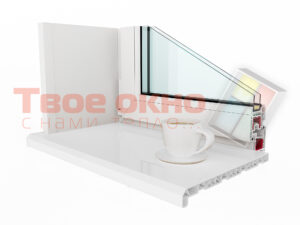 Danke White 1 300x225 - Подоконники