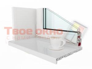 Kraft Beliy 1 300x225 - Подоконники