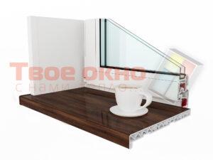 Kraft Oreh Dub 300x225 - Подоконники
