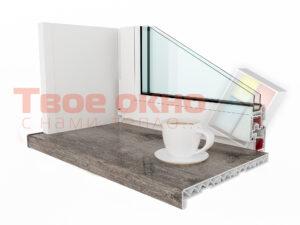 Kraft Seriy Dub 300x225 - Подоконники