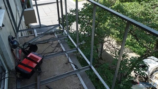 увеличение балконной плиты