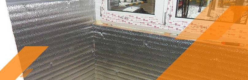 пенофол для отделки и утепления балконов