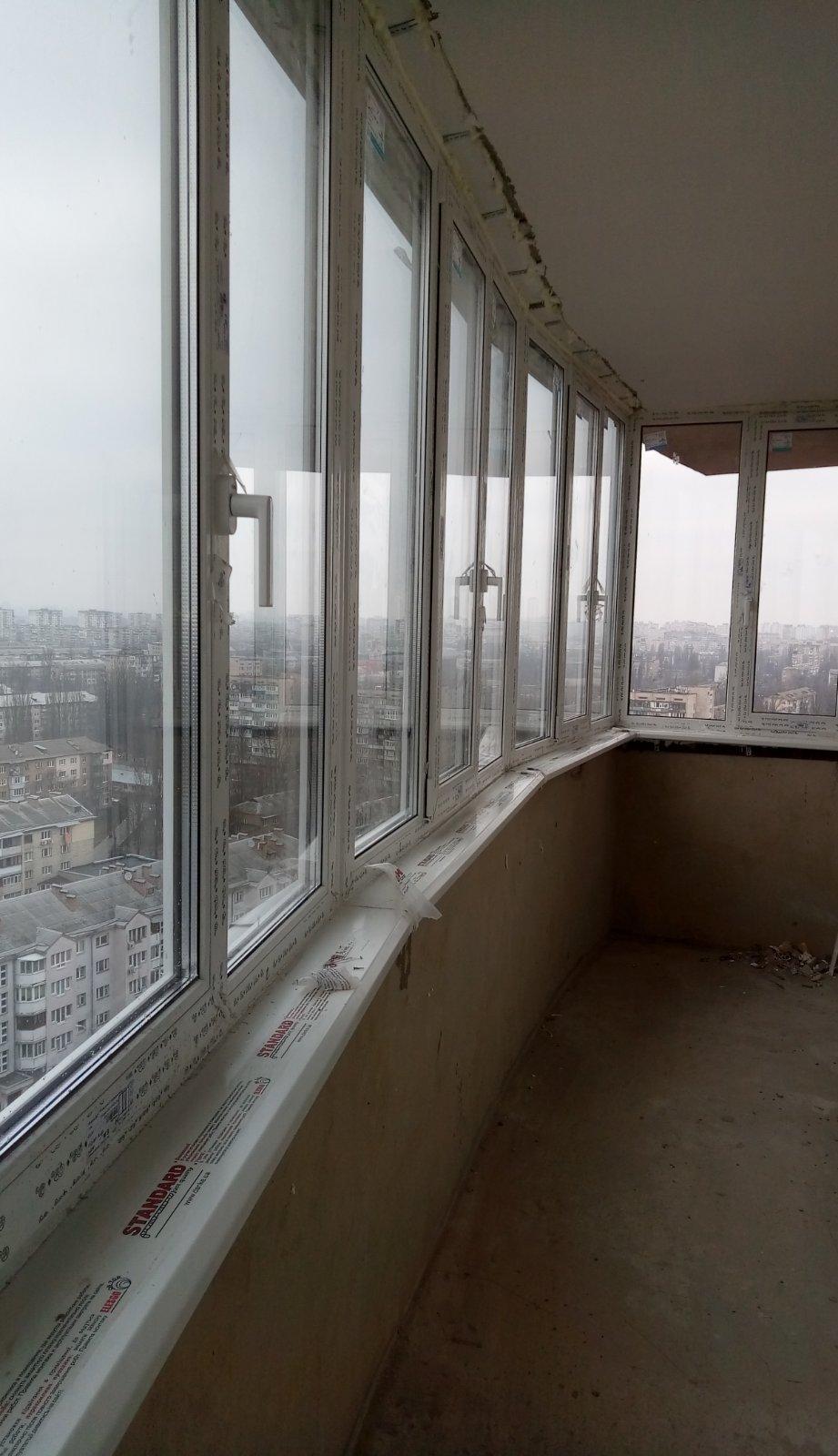 остекление балкона на П. Запорожца - фото 1