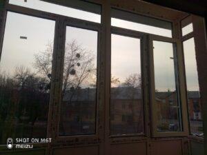 монтаж французского балкона в сталинке - мартиросяна 5