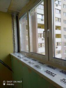 Остекление лоджии Вышгород, ул. Кургузова 1а