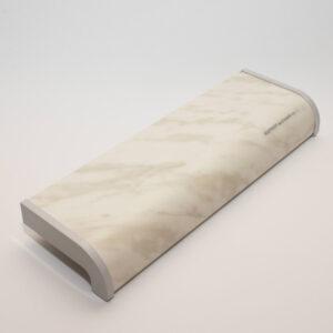 Пластиковый мраморный подоконник